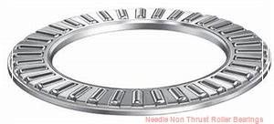 0.669 Inch | 17 Millimeter x 0.787 Inch | 20 Millimeter x 1.201 Inch | 30.5 Millimeter  KOYO JR17X20X30,5  Needle Non Thrust Roller Bearings